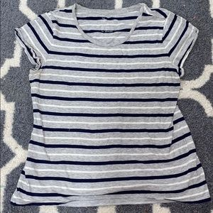 Stripped short sleeve
